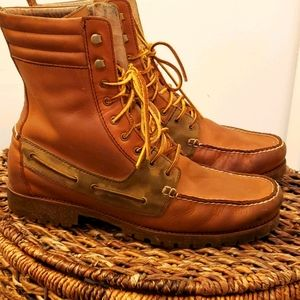 Polo Ralph Lauren Hi Top Ranger boots size 13